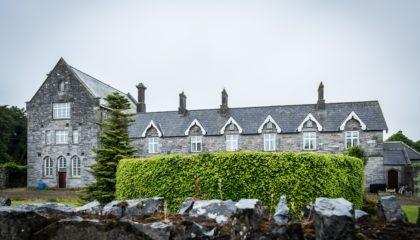 Dunshaughlin famine house in Ireland.