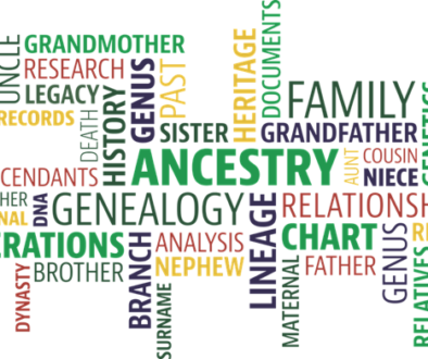 Some of the buzzwords associated with Genealogy research