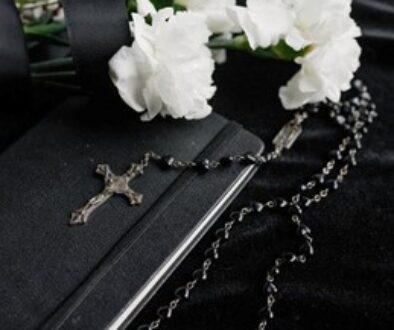 Displaying belongings of a deceased loved one